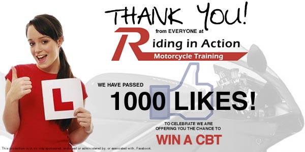 1,000 Facebook Likes